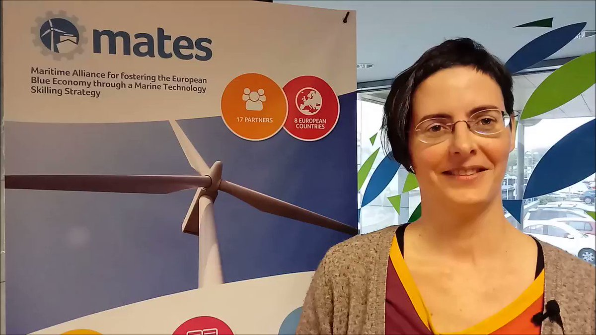 👏 The @ErasmusMATES coordinator on the #BlueprintMATES Project during the #business2sea event in Porto! 👩‍🔧🚢⚓️🌊