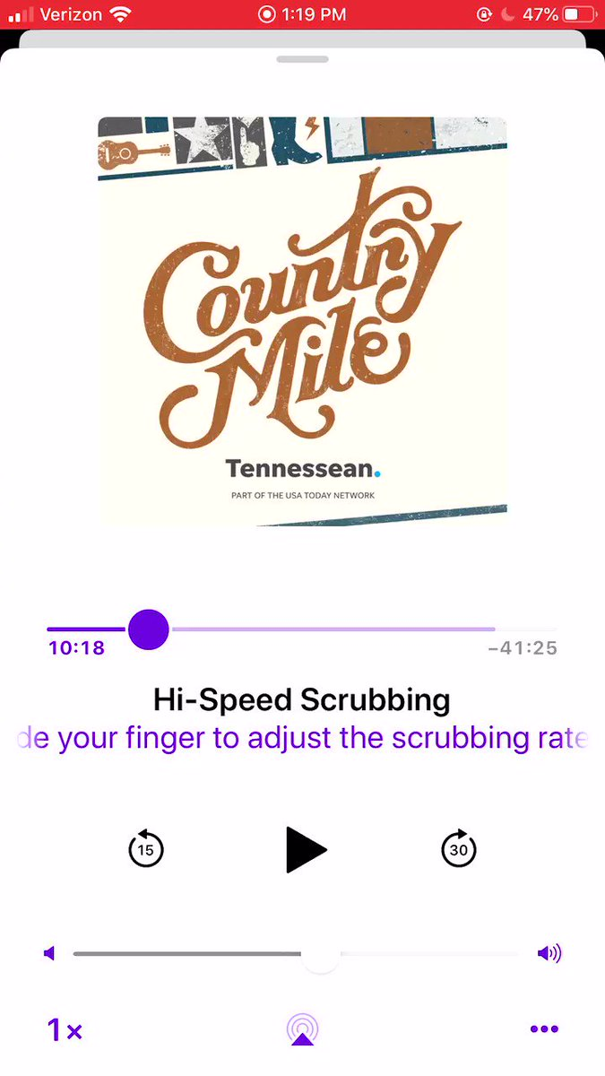 Listening to my conversation w/ @saraevansmusic on the @tennessean #CountryMile podcast reminds me how much Nashville has changed since I got here. Bet y'all didn't know the words 'Requested Material' helped me get my start! Listen now at bit.ly/MMCountryMileP…