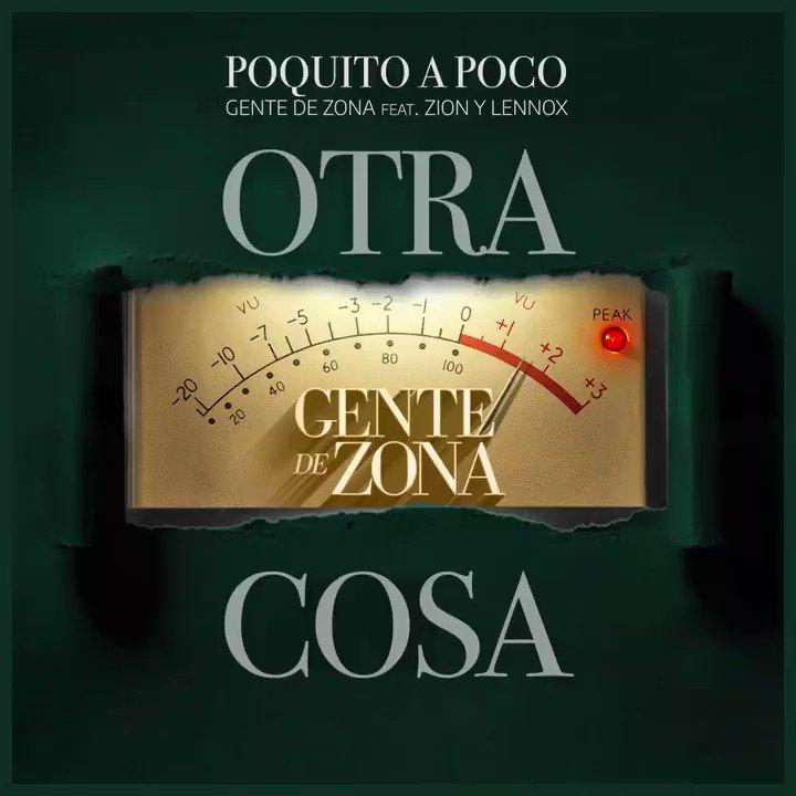 Todo empezó como en la rueda de la fortuna. Si tú te quitas una prenda, yo también me quito una... #PoquitoAPoco junto a @ZionyLennox 🔥🔥 . . #OTRACOSA #LoMejorQueSuenaAhora #zionylennox