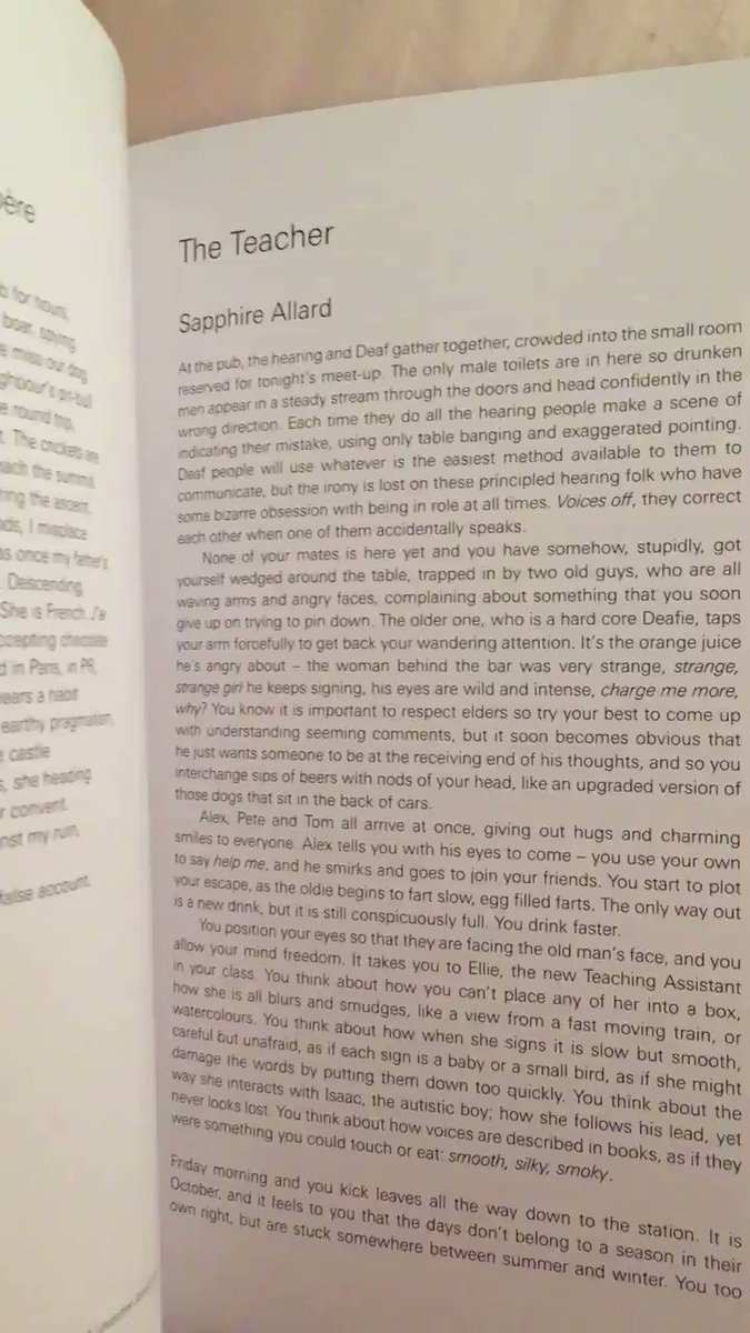 Look what turned up today - @sapphire_allard in @ambitmagazine