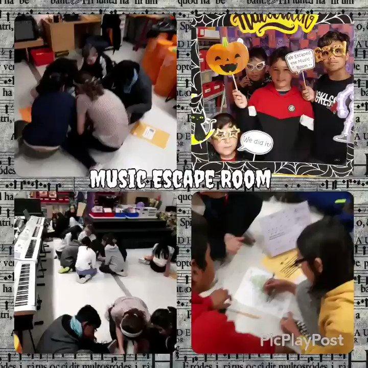 Hallo-fun week @ValentineDPCDSB .  #escaperoom  #musicfun @MsPlanchepic.twitter.com/zUe6KkQFny