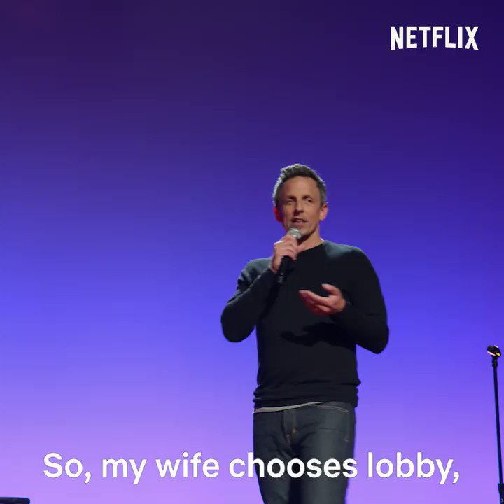 'Lobby Baby' is available to stream on @NetflixIsAJoke. Here is 34 seconds to prove it!