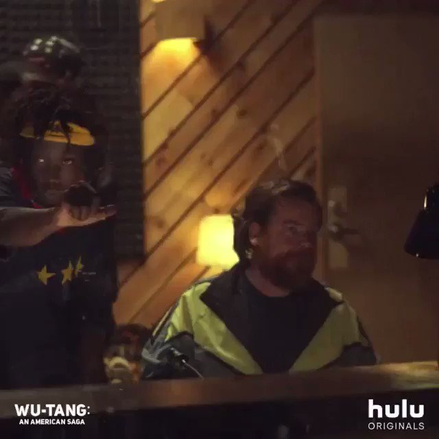 In the cage with Johnny Blaze! ALL EPISODES NOW STREAMING on @hulu #wutang #WuTangOnHulu