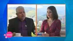 Periodista Jacqueline Redondo le da una lección a Marvin Ponce asesor de Juan Orlando Hernández #honduras #HondurasAvanza  #HondurasTeQueremosVerde