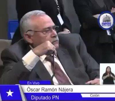 """Palabras  del Diputado Oscar Nájera:  """"...Hay que hacer más rico al rico...""""  Así piensa el @PNH_oficial.  ¿Us"""