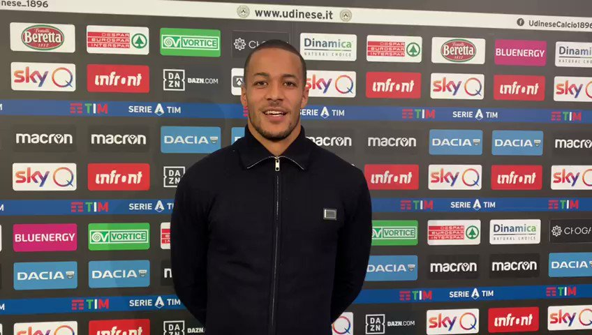 🤝 William Troost-Ekong in bianconero fino al 2023! ✍️ 🤝 William Troost-Ekong has signed a new deal with Udinese until 2023! ✍️ #Udinese #UdineseCalcio #Ekong