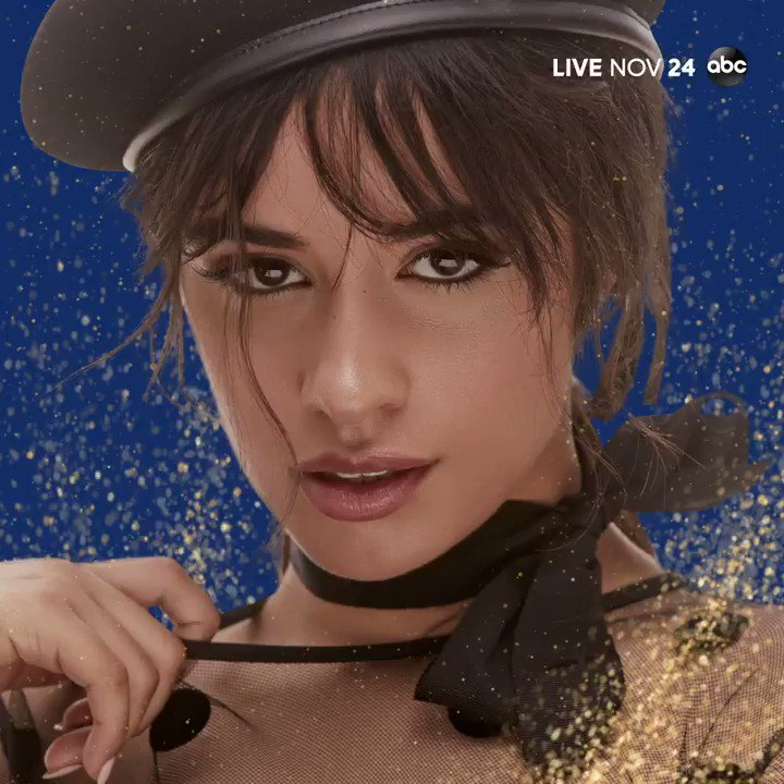 SHES BACK! After an unforgettable performance last year, @Camila_Cabello is back on the #AMAs stage, LIVE November 24th at 8/7c on ABC! ✨