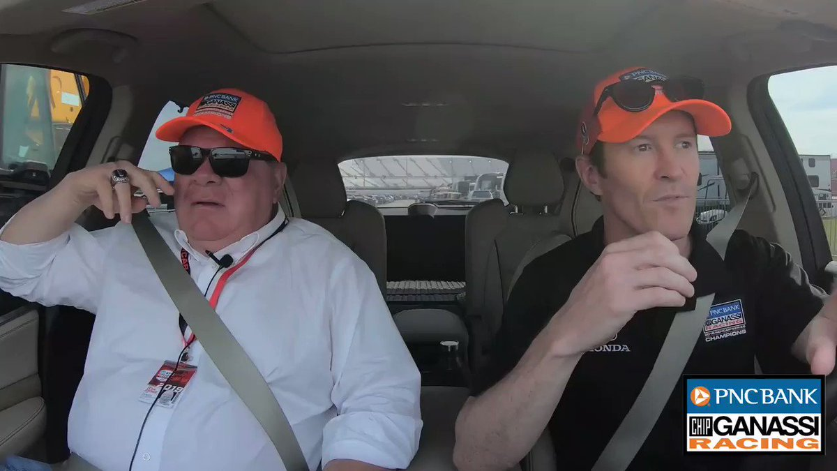 We've got a special guest in this month's episode of #ALapWithScott!  @GanassiChip joins @scottdixon9 for a two-part series talking all things racing and life away from the track.  @PNCBank   #BankOnThe9