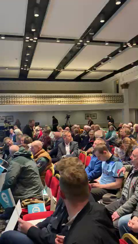 Day 3 of our General Election Tour - another full house tonight in Carlisle! Catch the livestream here from 7pm