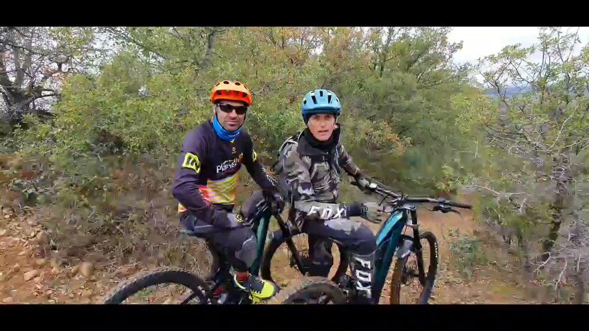 Que maravilla las clases de Chus Castellanos @planetmtb_ es un antes y un después...ahora podemos ir rápidos con mucha más seguridad y estilo...y esto es solo el comienzo, nos espera un año de mucho perfeccionamiento con este monstruo del Mountain Bike! 🚴