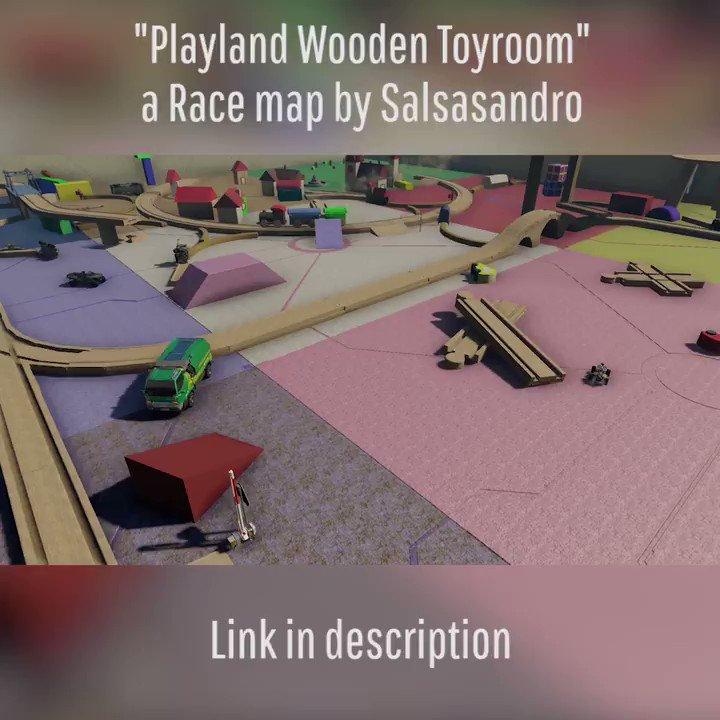 [Course] Playland Wooden Toyroom par Salsasandro