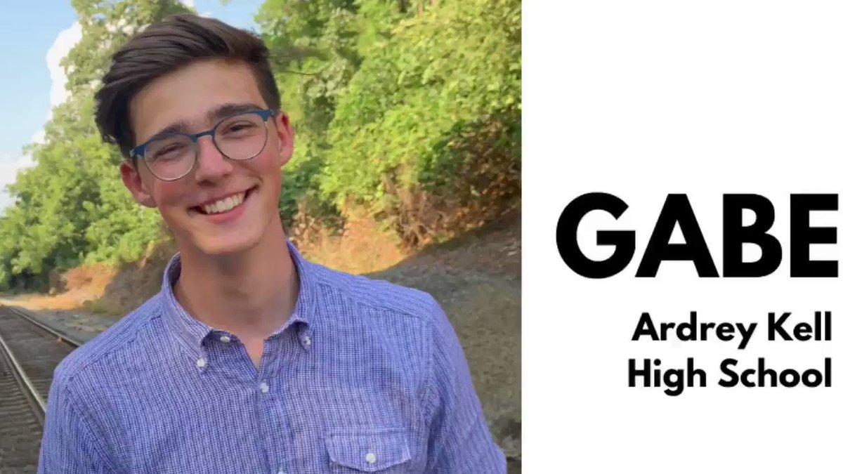 Image for the Tweet beginning: Congratulations to @ArdreyKellHS junior Gabe