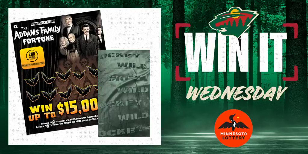 Say I'MN to #WinItWednesday  RT for a chance to win a #mnwild fleece blanket, $50 in @mnlottery scratch 🎟 and more.  Rules:
