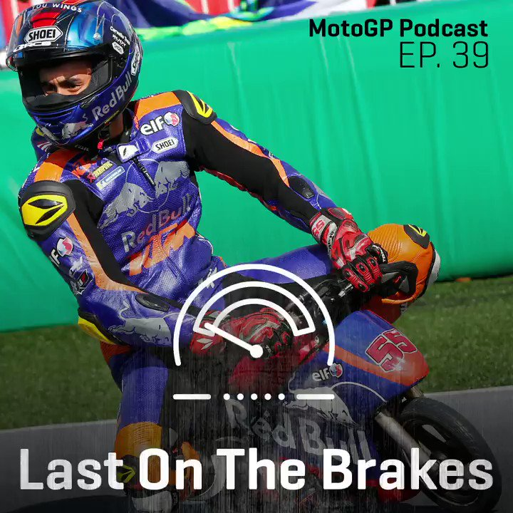 @Hafizh_pescao55 is featured in MotoGP's podcast this week! Sound on!! And here you can find the full podcast: open.spotify.com/episode/3WB84D… #KTM #Tech3 #MotoGP #HS55 #Bo55ku @MotoGP