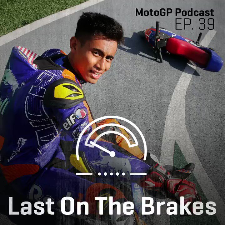 Also on Episode 39 of Last On The Brakes, the #MotoGPPodcast 🎧 @Hafizh_pescao55, the local hero of the #MalaysianGP, tells us the story of why he needed to take money from his Dads workshop when he wasnt looking in order to kickstart his career! 🏍️ open.spotify.com/episode/3WB84D…