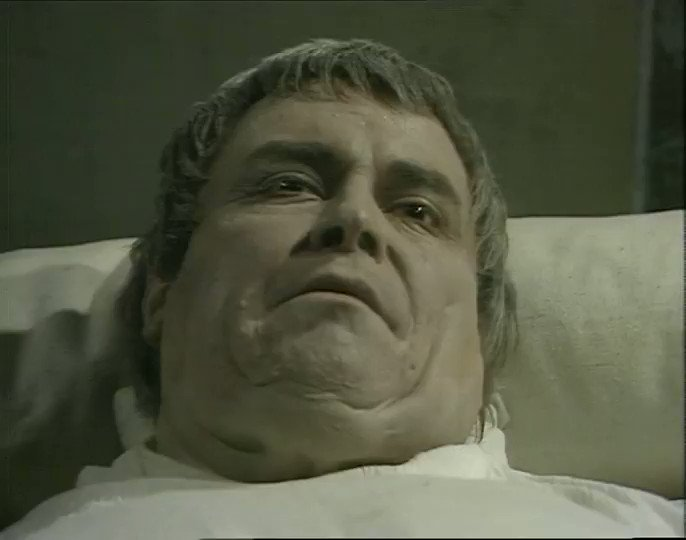 """Archivetvmusings on Twitter: """"I Claudius - Poison Is Queen (11th October  1976). Augustus' death scene is an extraordinary television moment.… """""""