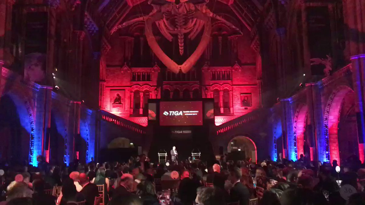 Great to be at the #TIGAawards  tonight where @SpecialEffect  are generously being supported by the UK games industry 🎮