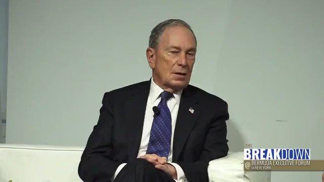 @RealSaavedra's photo on Michael Bloomberg
