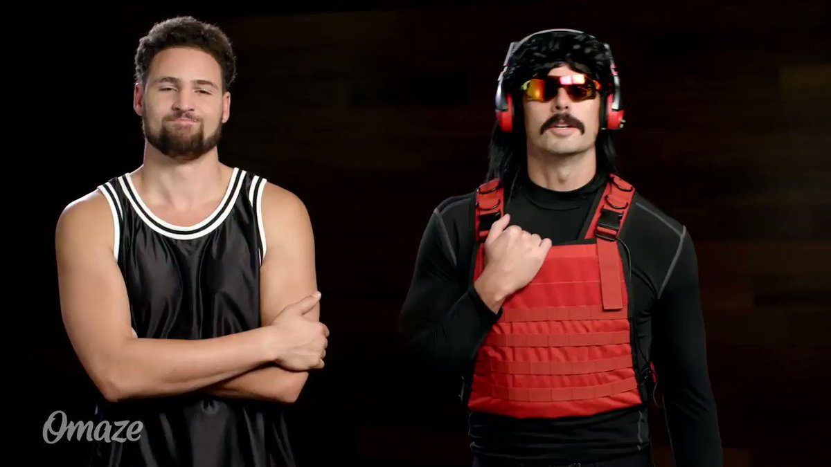 You could win a trip to play #ModernWarfare with @DrDisrespect and @KlayThompson. Support the Call of Duty Endowment and enter with @omaze at omaze.com/cod #omaze