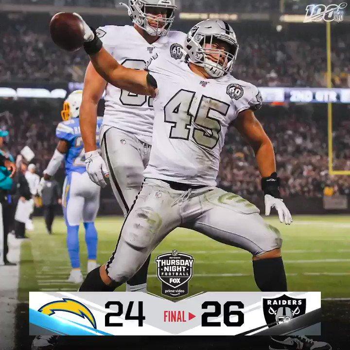 @NFL's photo on #LACvsOAK