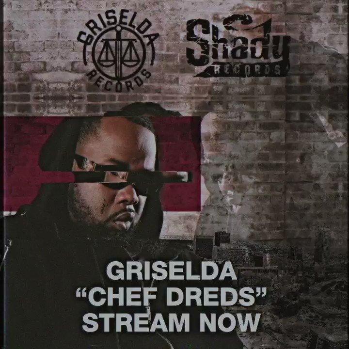 """The most sought after bar after bar after bar after bar"".. #ChefDreds dropped from the new Griselda album #WWCD coming 11/29. Stream the track now - https://t.co/mLm0whfIrX  @WESTSIDEGUNN @WHOISCONWAY @bennybsf #Griselda #Shady"