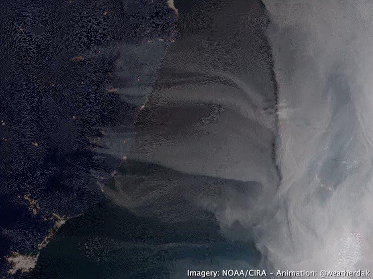 Australia Wildfire: imagery of Australia's east coast today.