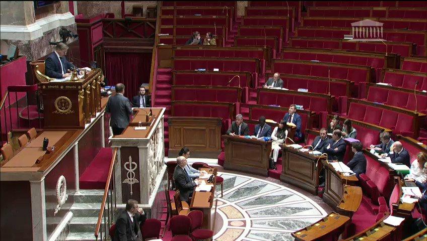 Image for the Tweet beginning: 🎙J'étais l'orateur du groupe @LaREM_AN