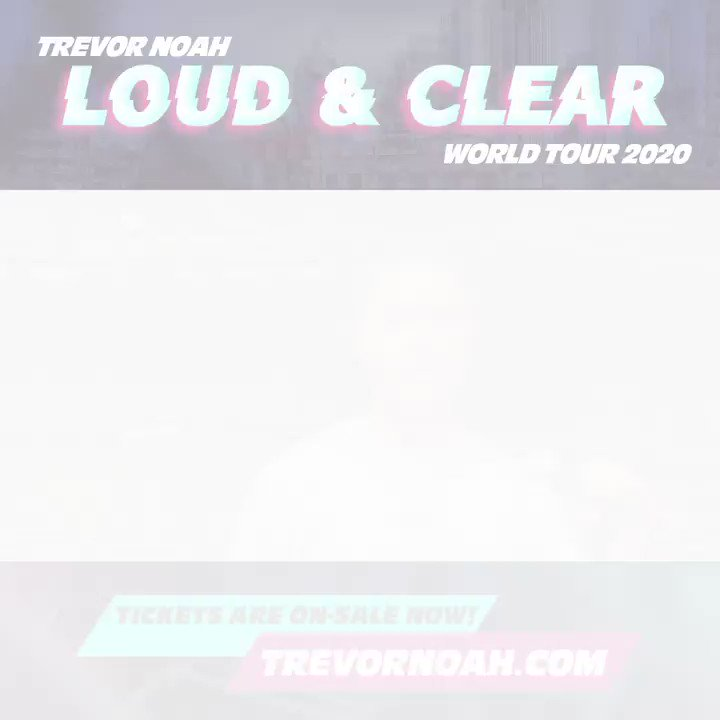 Europe! Tickets for my #LoudAndClearWorldTour are on-sale now! You can find them at trvr.no/ah-TourDates 🌎🙌🏾