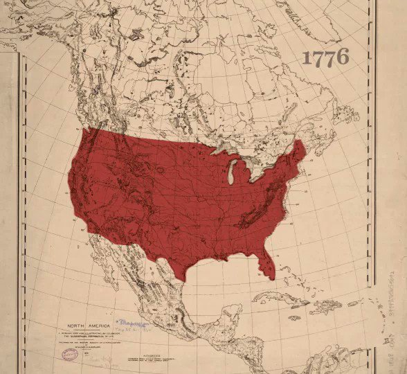 Animated map shows land loss of Native American population from 1776 to 1930. Source: buff.ly/31j5jOJ