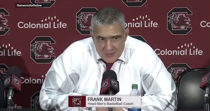 """""""You're going to have the sniffles when you go through life.   Better get out of bed and go to work.   If not, you're going to end up on the unemployment line."""" @FrankMartin_SC"""