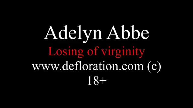 Boaby Puller ⭐ 12K ⭐ - Virgin German teen Adelyn Abbe has sex for the first time. 1/13 All clips in thread!!