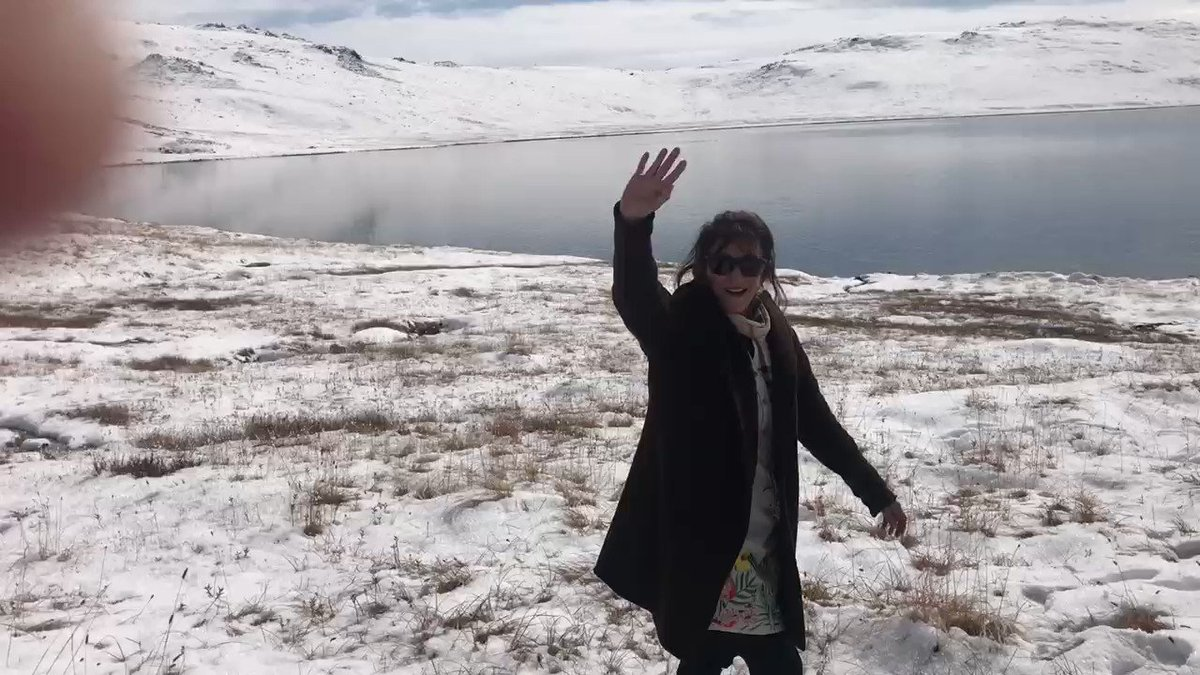 With flights cancelled and road access blocked we decided to cross the Deosai Plateau (12000ft) in November. The journey had its hazardous moments but the winter landscape was spectacular. https://t.co/FTRbsnxTu2