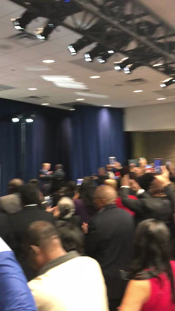 These are some of the great  @realDonaldTrump supporters that the media does not want you to know about. Proud to join @POTUS and so many folks at the Black Voices for Trump coalition today in Atlanta. #KAG