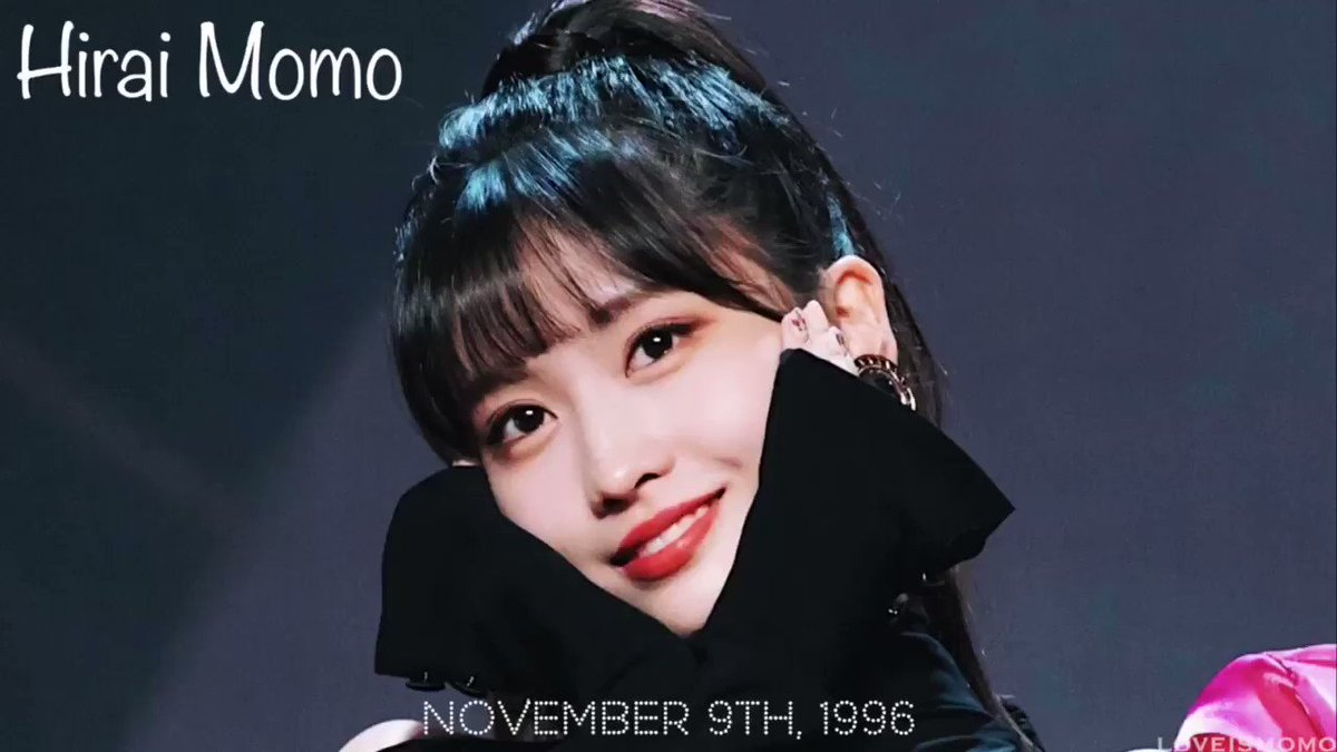 1996.11.09 ❥ Happy birthday to the shining light in my life. I love and adore you so much! youtu.be/uXJyhzP6-QQ 🎂🎈 #HappyMOMOday #DancingMachineMomo #OurLovelyMomoDay #모모 #MOMO #TWICE @JYPETWICE