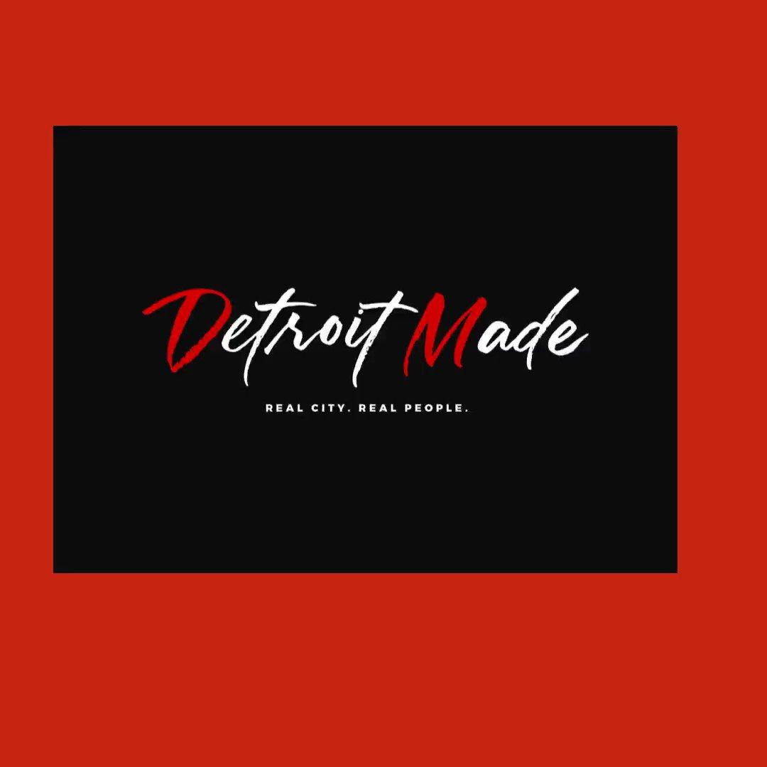 """""""Detroit Made""""  Order yours today:  ____________ #Detroit #detroitmichigan #detroithairstylist #detroitbraider #detroitfashion #detroithair  #detroithiphop #detroithustlesharder #detroitvseverybody #detroitmade #detroitlove #michigan #motown"""