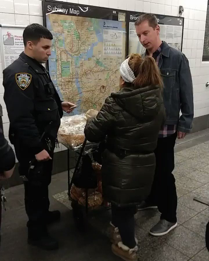 Viral video of NYPD arresting woman selling churros in subway draws outrage