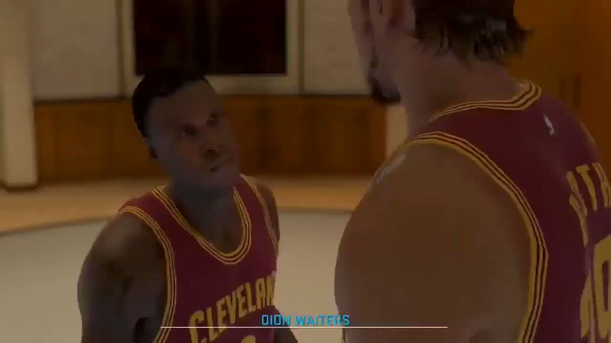 Coach: Dion you ok?  Dion Waiters [15 gummies deep]: