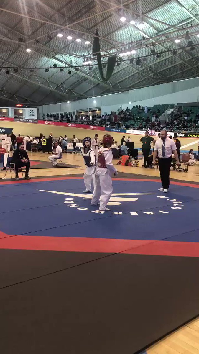 🥋| Some action from on the mats here at the Kyorugi National Championships 💥 #TaekwondoNationals2019