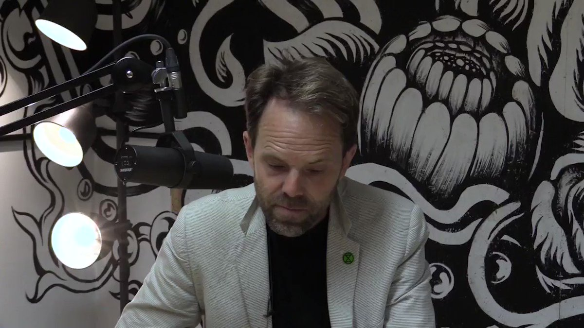 Ecological collapse inevitably means some level of social, political and economic collapse. Industrial growth capitalism is propelling our society off of a cliff edge. We need to stop it. Full video: youtube.com/watch?v=AoE1ZV… #ExtinctionRebellion #GE2019 #GeneralElection2019