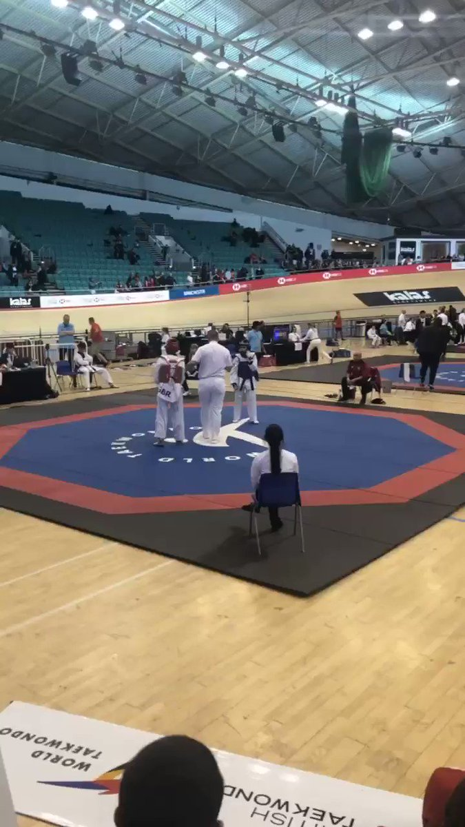 🥋| Time for the final few matches here at the Kyorugi National Championships 💥 #TaekwondoNationals2019