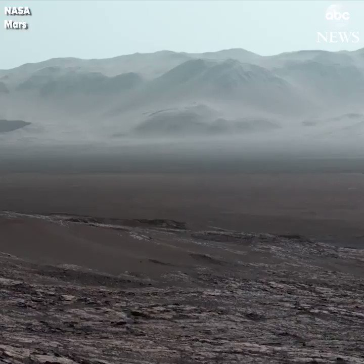 Wow: A panoramic view of Mars, captured by NASA's Curiosity. Very cool.