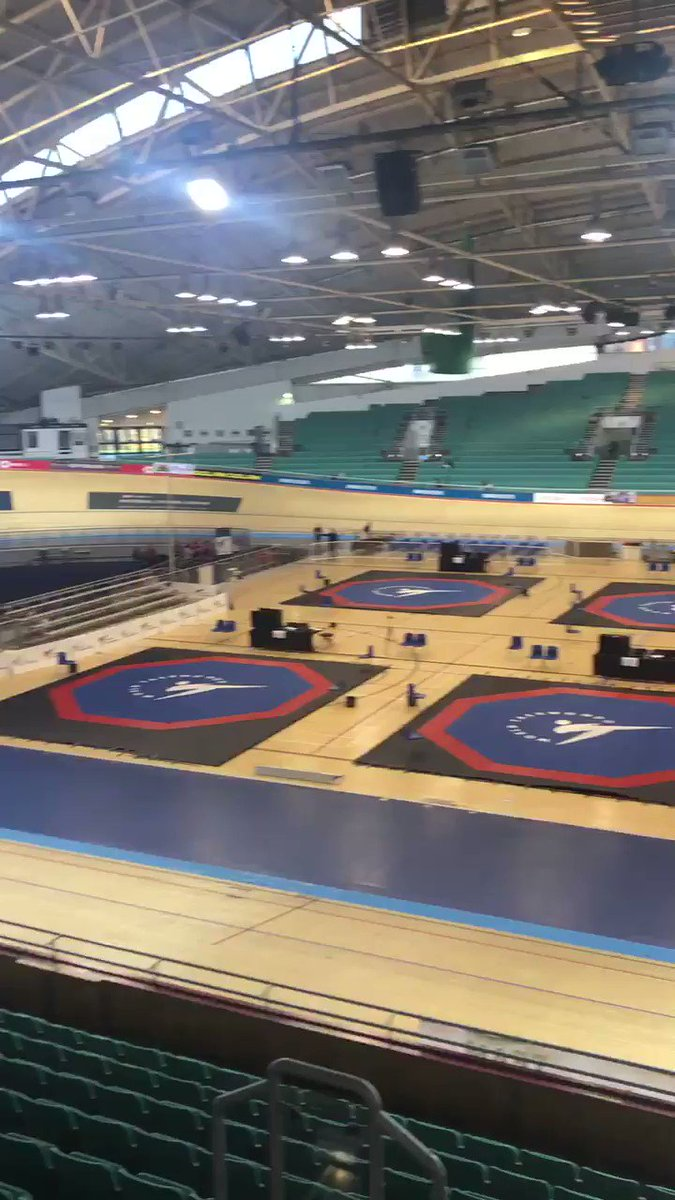 🥋| It is time for Day 2️⃣ of the Kyorugi National Championships 🇬🇧 Good luck to everybody fighting today 💥 #TaekwondoNationals2019