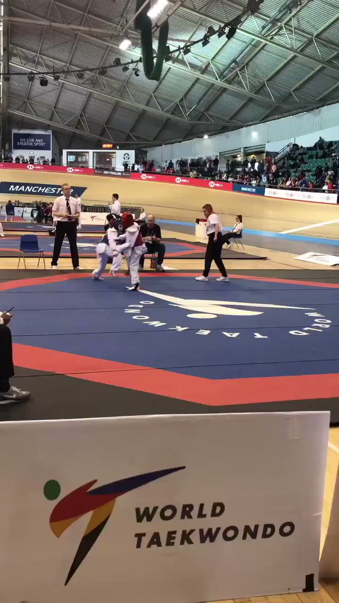 🥋| Some of the action from day 2️⃣ at the Kyorugi National Championships 🇬🇧 #TaekwondoNationals2019