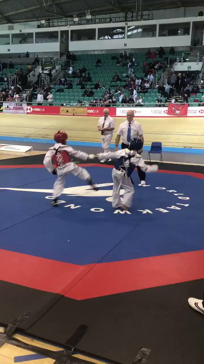 🥋| Semi-Finals and Finals are now taking place on our final day of the Kyorugi National Championships 🇬🇧 #TaekwondoNationals2019 🥇🥈🥉🥉