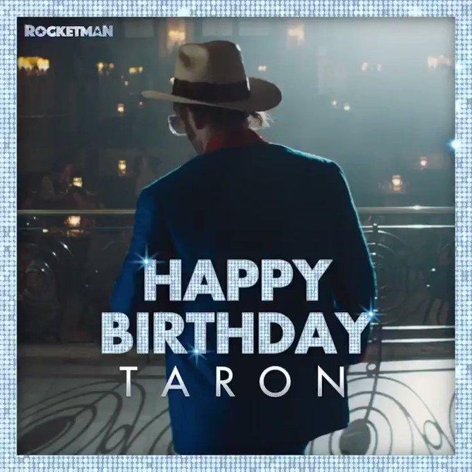 Happy birthday to our Rocketman, Taron Egerton!