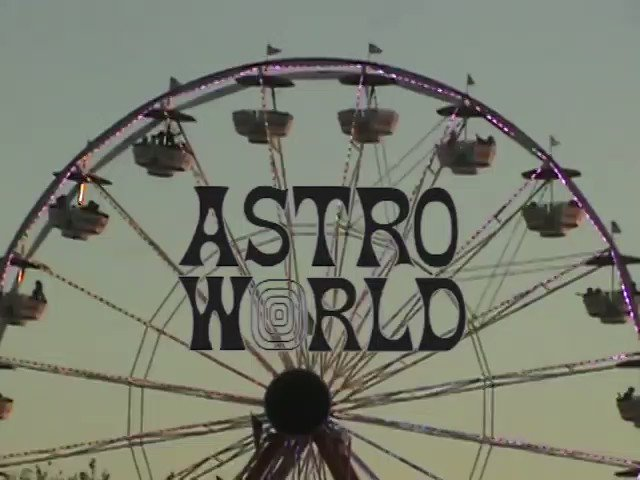 ASTROWORLD. (only sets: Travis Scott, Migos, Pharrell, Playboi Carti, Gunna, Young thug, and Kanye West.)
