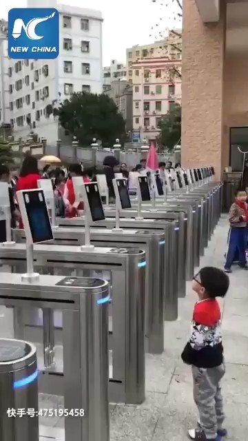 Çinin okullarındaki teknolojiler...