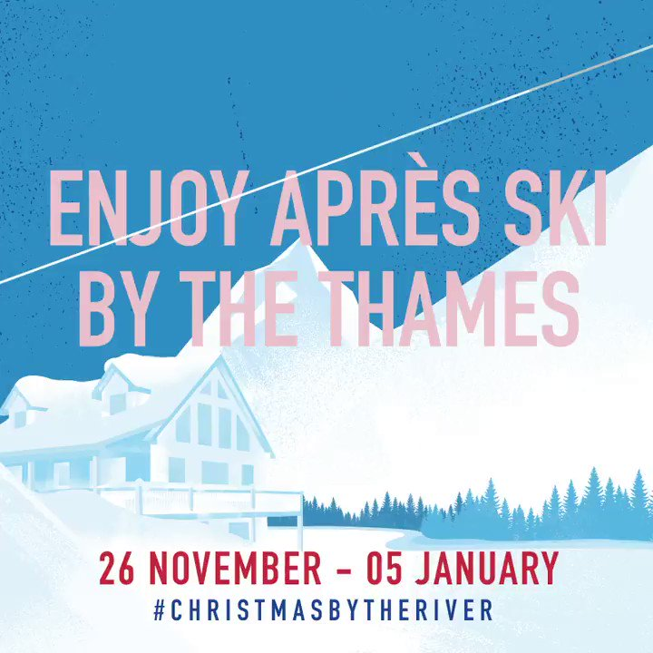 This #winter, a glide along the Thames from #LondonBridge to #TowerBridge is all it takes to find the season's finest après ski #ChristmasByTheRiver