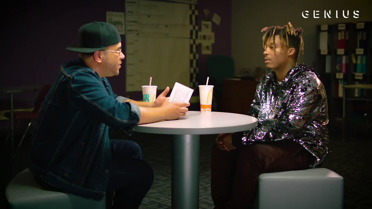 In case you missed #BeatofMyCity Chicago, @Genius sat down with @JuiceWorlddd to talk about his unforgettable hometown performance and the importance of giving back to @100BMC