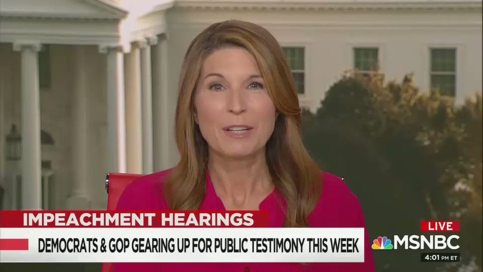Replying to @PoliticusSarah: Nicolle Wallace lays out the crushing impeachment evidence against Donald Trump.